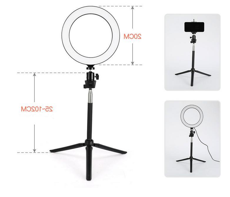 NEW LED Light Lamp Camera Studio Video Dimmable KIT