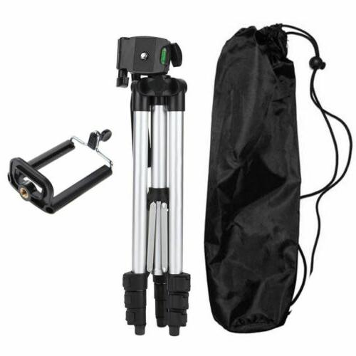 Professional Camera Tripod Stand Mount + Phone Holder for Bag