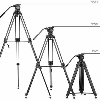 Professional Camera Tripod Stand with Fluid For Camera