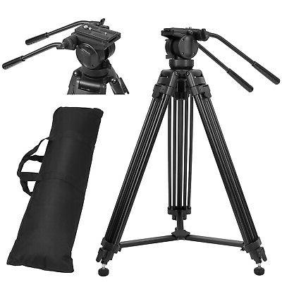 professional heavy duty camcorder camera tripod stand