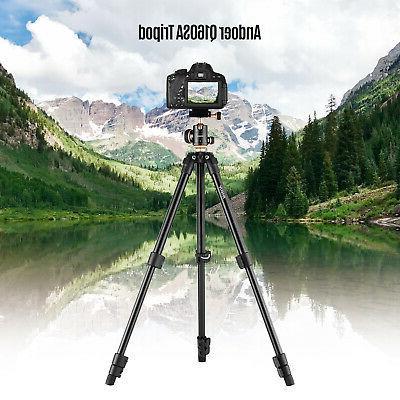 Andoer Portable Tripod Ball Head Canon Nikon Camera