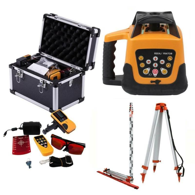 self leveling rotary rotating red laser level