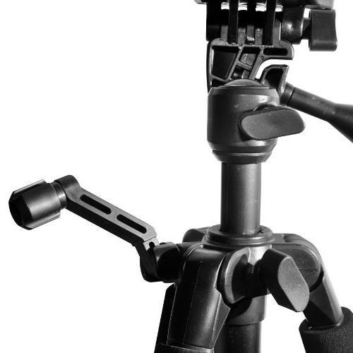 "60"" Series Lightweight Photo/Video Tripod & Carrying Case for Canon, Sony, Olympus, Samsung, Panasonic, Kodak, Cameras & HeroFiber Gentle Cloth"
