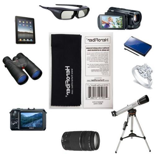"60"" Pro Series Photo/Video Case Canon, Sony, Olympus, Pentax, Panasonic, Fujifilm Digital Cameras Camcorders HeroFiber Ultra Gentle Cloth"