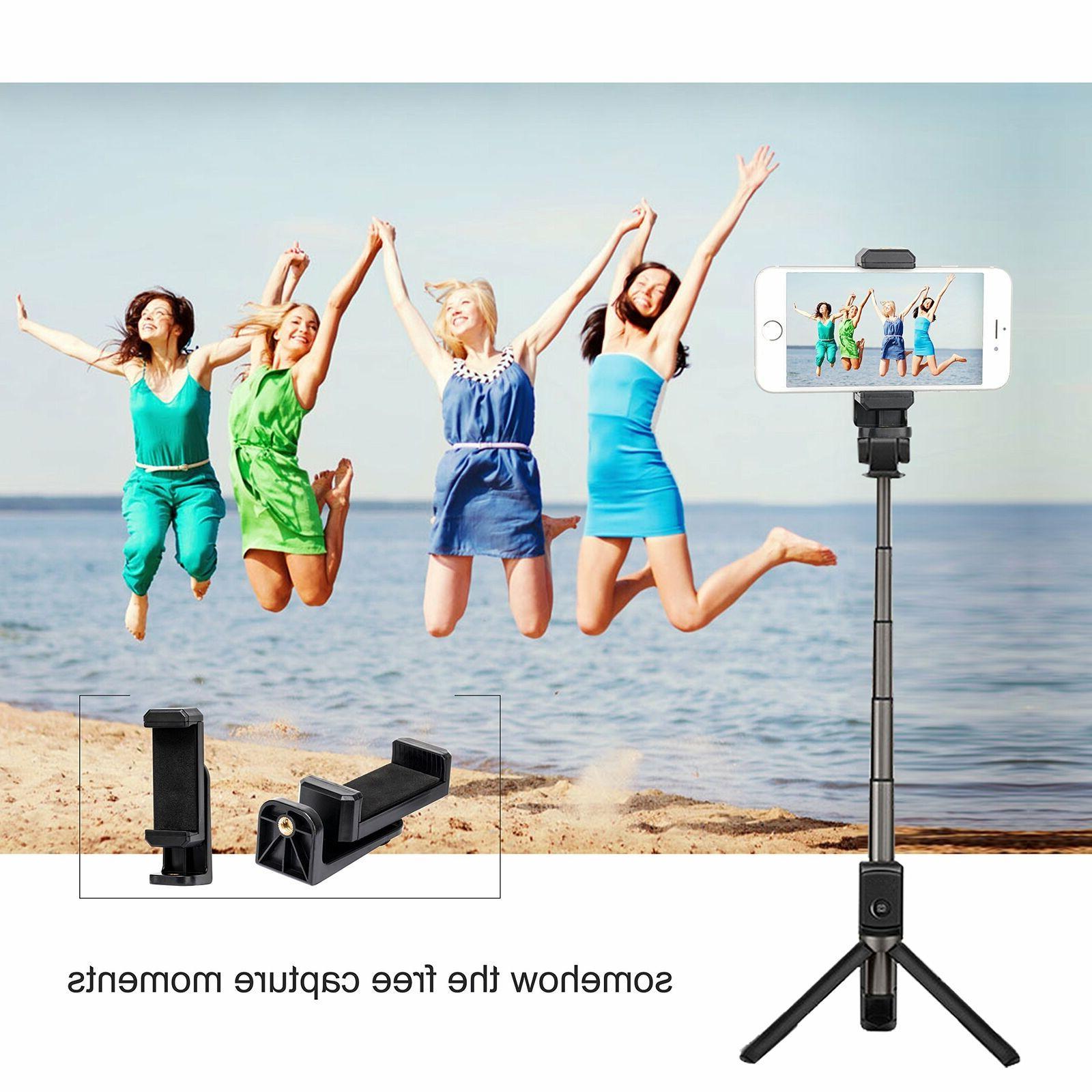 Smartphone Tripod Mount Camera Holder Attachment For