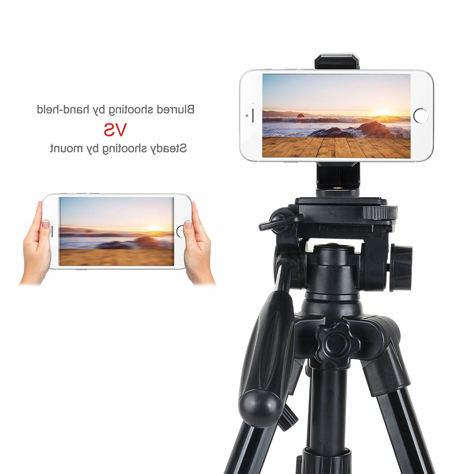 Smartphone Mount Camera Holder Adapter For Filming