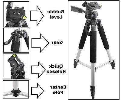 """57"""" Pro Series New Tripod With Case For Sony Alpha a7 III a7"""