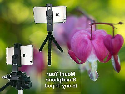 Universal Tripod Adapter Holder 11 Remote