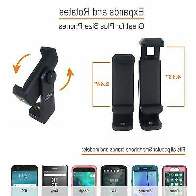 Universal Smartphone Adapter Holder Mount iPhone 11 Pro Max Remote