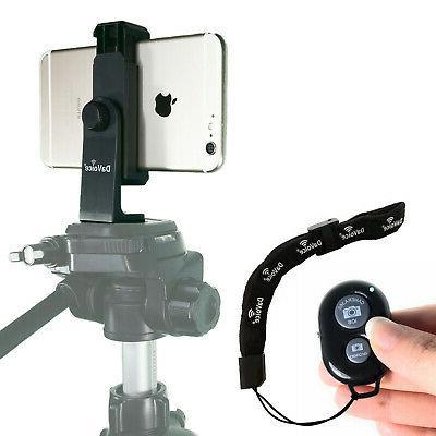 universal smartphone tripod adapter holder mount