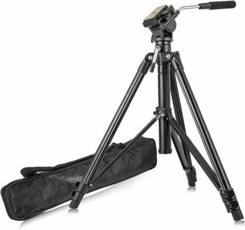 VT555 Professional Aluminum Camera Video Fluid US