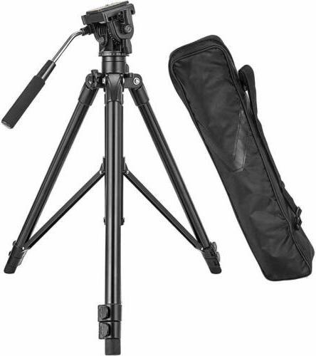 vt555 professional aluminum camera video tripod