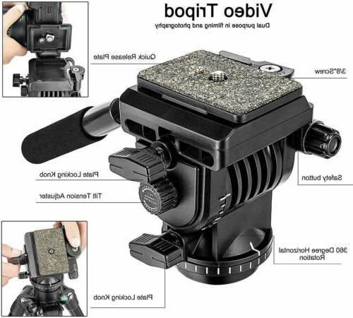 VT555 Video Fluid Head US
