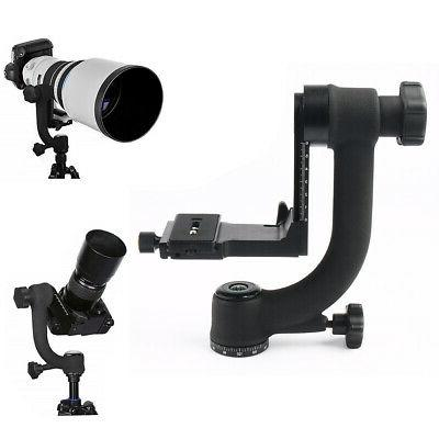 Movo GH700 Gimbal Tripod Head With Arca-Swiss Quick-Release