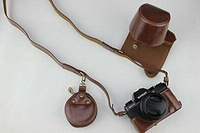 X-T100 Case, BolinUS Handmade PU FullBody Case