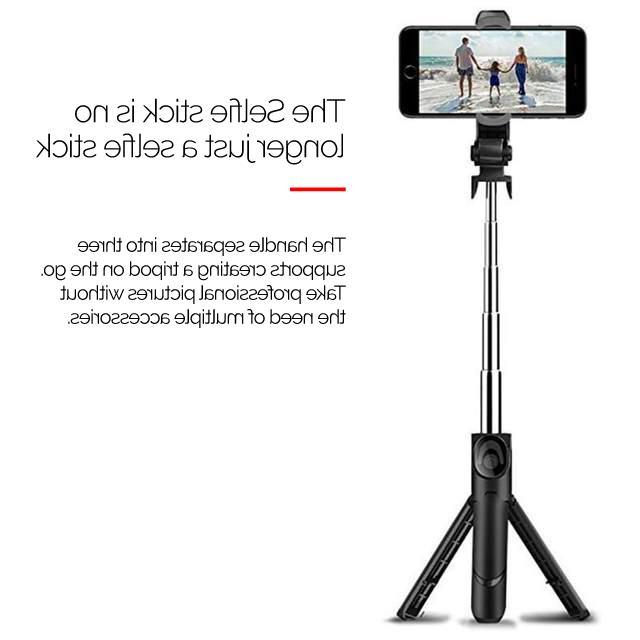 XT-09 Selfie Stick Holder Size Iphone holder