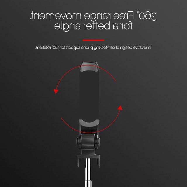 XT-09 Selfie Stick Tripod Holder Bluetooth Size Iphone