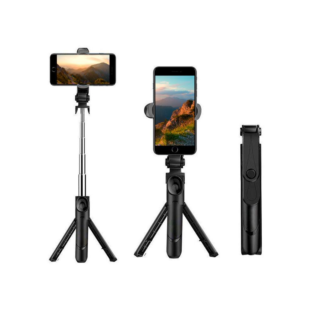 xt 09 selfie stick tripod holder bluetooth