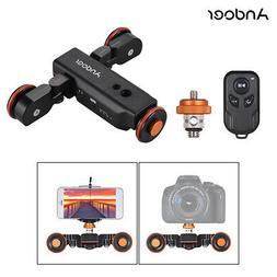 Andoer L4 PRO Motorized Camera Video Dolly Electric Track Sl