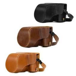 MegaGear Leather Camera Case for Fujifilm X-T30, X-T20, X-T1
