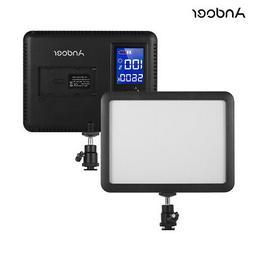 Andoer LED Video Light Panel Fill-in Lamp 3300K-5600K for Ca
