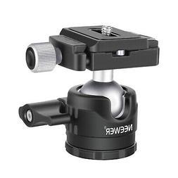 Neewer 360 Degree Rotatable DSLR Cameras Tripod Ball Head wi