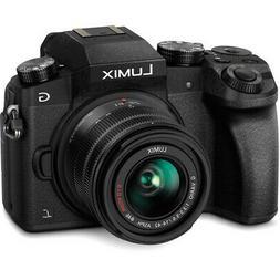 Panasonic Lumix DMC-G7 Mirrorless Digital Camera - Black w/1