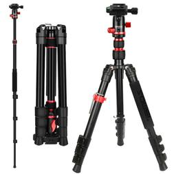 Zomei M5 Professional Tripod Monopod BallHeadFor Canon Nikon