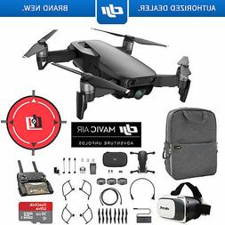 DJI Mavic Air Onyx Black Drone Mobile Go Pack VR Goggles Lan