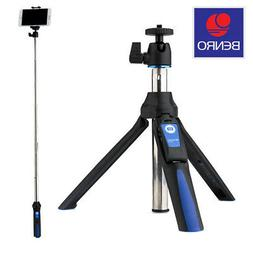 Benro Mini Tripod/Selfie Stick with Ball Head~Adapters for G
