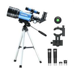 70mm Astronomical Refractor Telescope Refractive Eyepieces T