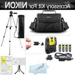 ButterflyPhoto Nikon Coolpix Digital Camera Charger Tripod C