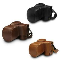 MegaGear Nikon D3500 Ever Ready Leather Camera Case with Lea