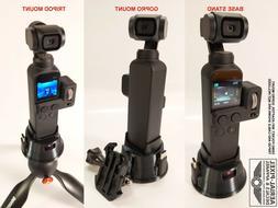 DJI OSMO Pocket WiFi Module Compatible Tripod & GoPro Mount