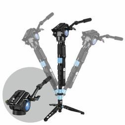Sirui P-426SR+VH10 Carbon Fiber Monopod Tripod For Camera  H