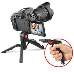 Circuit City Pistol Grip Tabletop Tripod for Canon Nikon Son