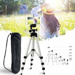 Tripod Stand Camera Cell Phone Mount Holder Portable Profess