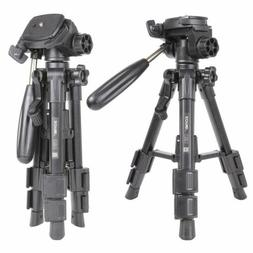Pro Travel Portable Tabletop mini Tripod Pan Head stand for