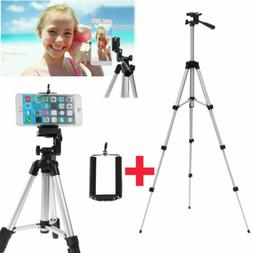 Professional Camera Tripod Stand Holder Mount +Bag for iphon