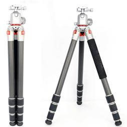 Koolehaoda Professional Carbon Fiber Tripod Monopod & Ball H