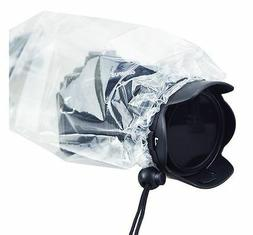 """JJC RI-S Camera Rain Cover for DSLR with a lens up to 11""""  S"""