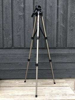 Velbon S-6000 Aluminum Telescoping Camera Tripod W/ 3-Way Pa