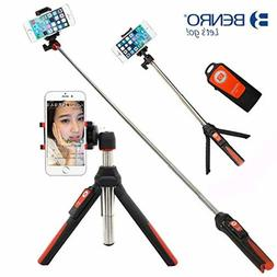 Selfie Stick Handheld And Tripod 3 In 1 Self Portrait Monopo