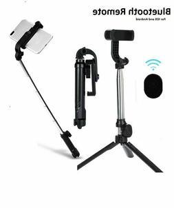 Selfie Stick Tripod Desktop Stand For iPhone Samsung Wireles