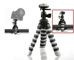 """8"""" Pro Flexible Tripod For Nikon Coolpix A300 B700 A900 A10"""