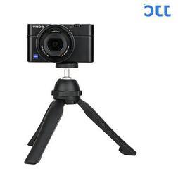 JJC TP-MT1 SILVER Mini Tripod for mirrorless cameras LED lam
