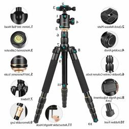 Andoer Tripod 60 Inch Compact and Light Weight Aluminum Allo