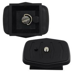 Tripod Quick Release Plate Screw Adapter Head For Opteka OPT