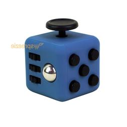 Twilight Blue Fidget Cube Toy Anxiety Stress Relief Focus At
