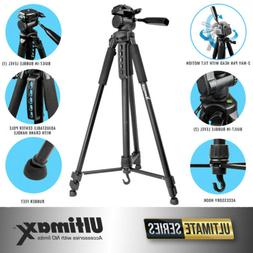 "ULTIMAX 75"" PROFESSIONAL LIGHTWEIGHT TRIPOD FOR CANON NIKON"